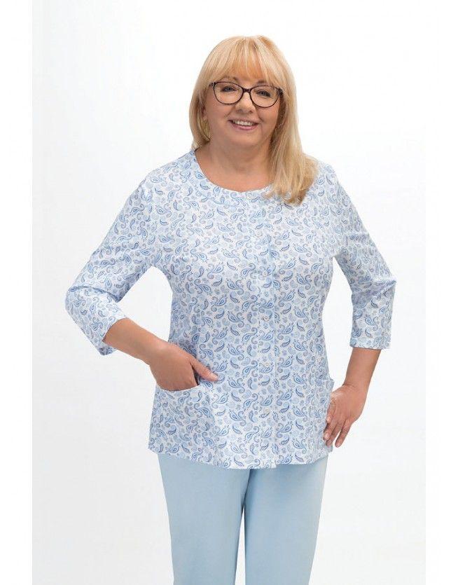 Női pamut pizsama Maria II 201 3/4 M-2XL