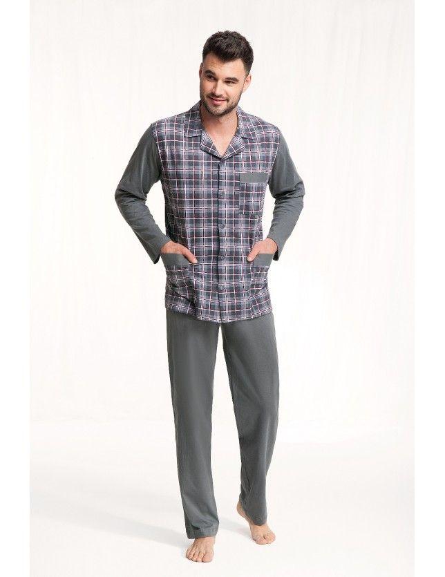 Luna 797 férfi pizsama  3XL-4XL