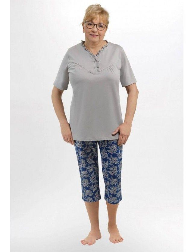 Gombos nyakú pizsama Waleria I 215 kr/r 3XL-4XL