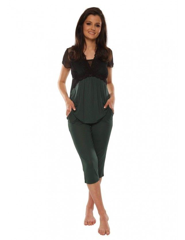 Elegáns női pizsama szett 490 Artemise kr/r S-2XL