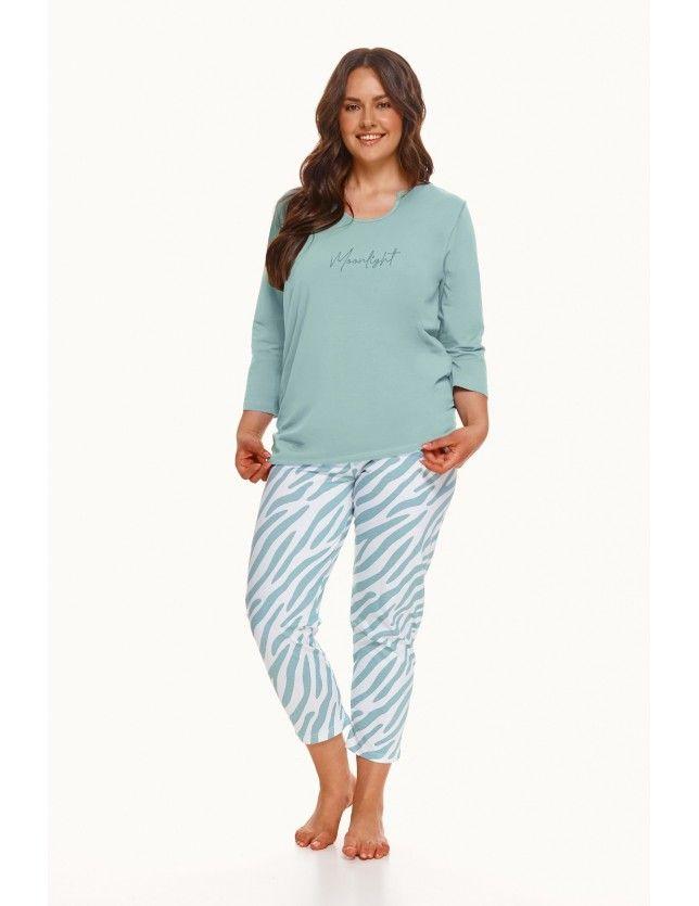 Halásznadrágos női pizsama Carla  2606 3/4 2XL-3XL