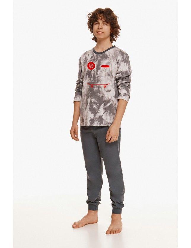 Mintás fiú pizsama szett  Greg 2655 dł/r 146-158 Z'22