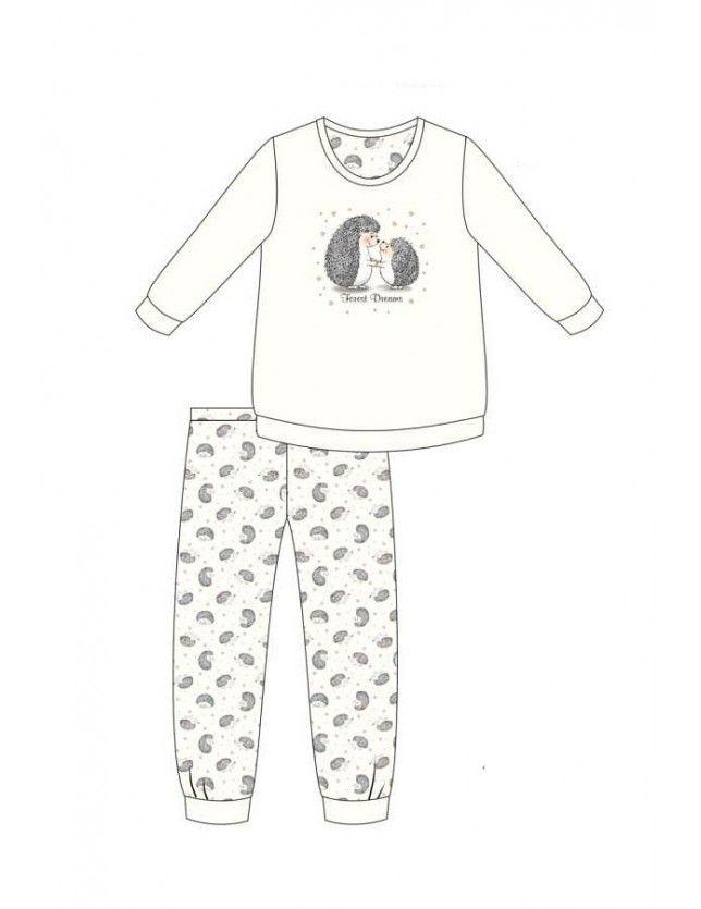 Vicces női pizsama szett 467/277 Forest Dreams dł/r S-2XL