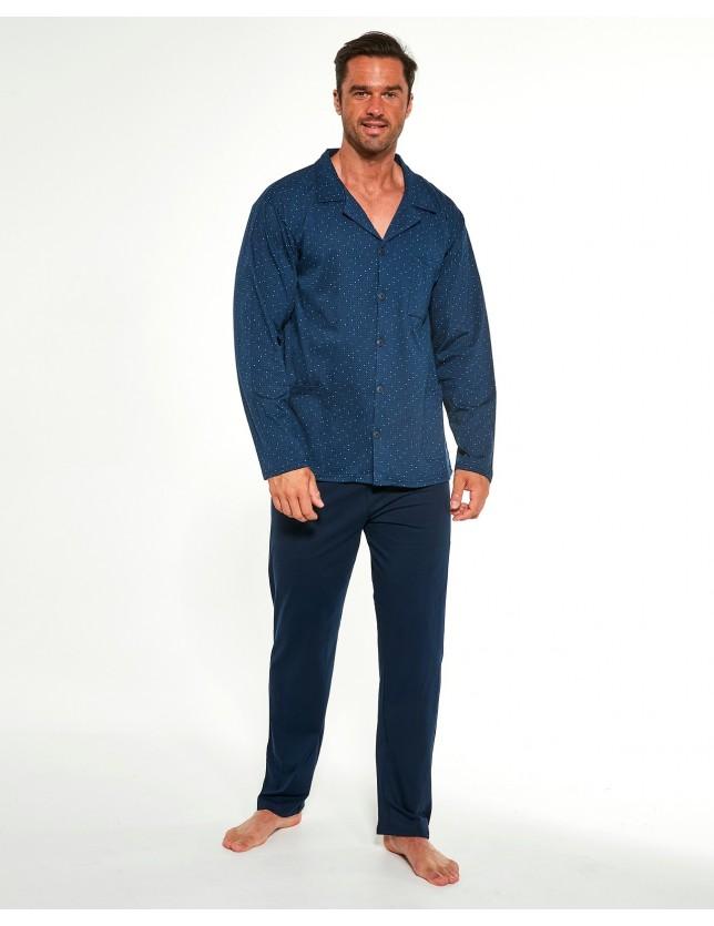 Nagyméretű pizsama szett gombokkal 114/51 244602 3XL-5XL