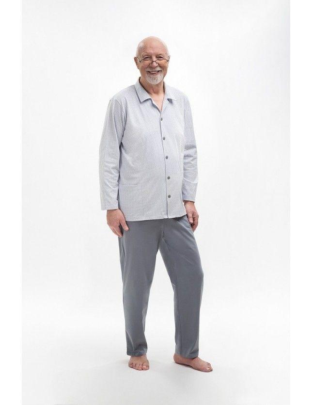 Klasszikus pizsama Antoni 403 dł/r M-2XL