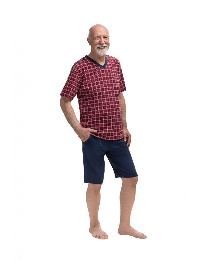 Pamut rövid pizsama Michał 400 kr/r M-2XL