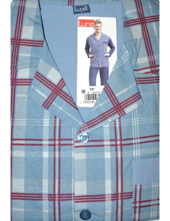 Luna 797 férfi pizsama M-2XL