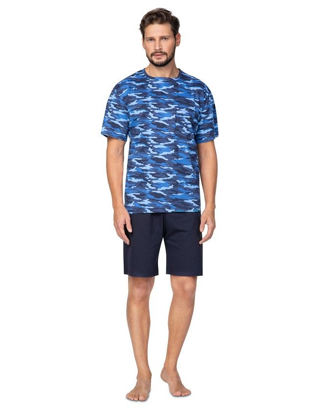 Mintás sortos férfi pizsama  577 kr/r 2XL