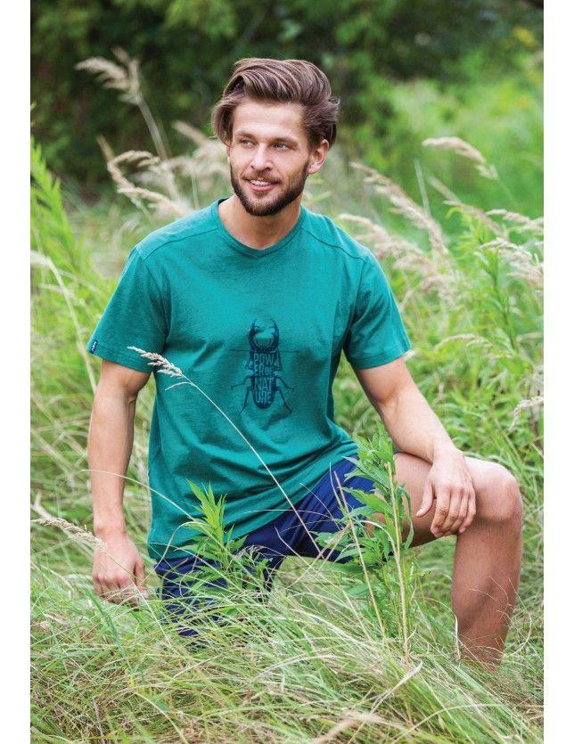 Zöld pizsama szett  MNS 741 1 A21